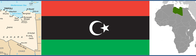 Libya Maps and Flag