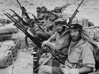 SAS patrol during World War II in Africa (Creative Commons)