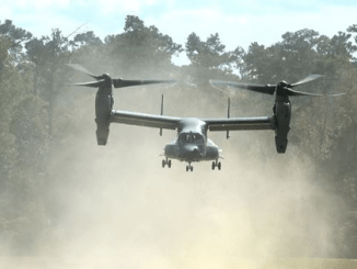 CV-22 Osprey in Exercise Southern Strike (photo 26 Oct 2016 by SA Jeff Parkinson, 1st SOW)