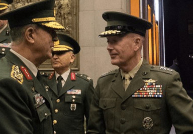 General Dunford in Turkey. DoD photo by D. Myles Cullen, Nov 6, 2016.
