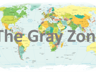 Map - The Gray Zone and Hybrid Warfare