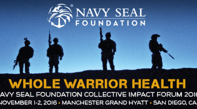 Navy SEAL Foundation - Whole Warrior Health (photo from NSF website Nov 2016)