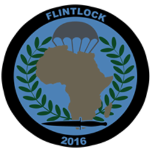 FLINTLOCK 2016 Logo from SOCAFRICA's FLINTLOCK Facebook page