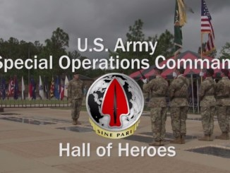 Hall of Heroes - USASOC digital memorial to fallen SOF Soldiers