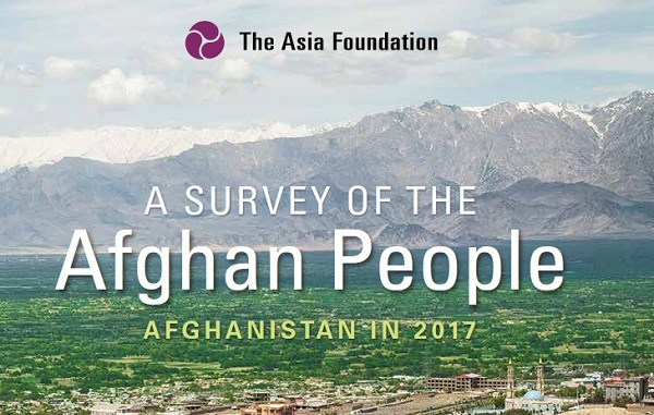 Asia Foundation Survey 2017 was released on November 14, 2017 by the Asia Foundation.