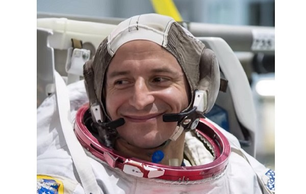 Colonel Andrew Morgan, astronaut and Special Force surgeon.