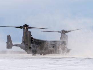 CV-22 Osprey during Emerald Warrior 10-1