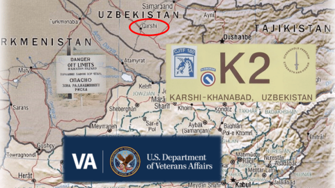 K2 Vets have high rates of cancer. VA no help.