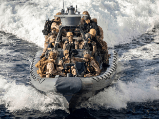 Marines RHIB VBSS Drill Red Sea 20200113