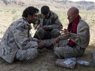 Wade Priddy CAAT COIN Advisor Afghanistan