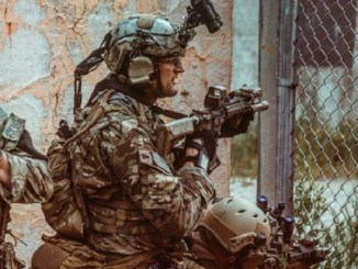 Green Beret from 7th Special Forces Group