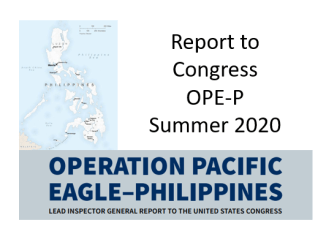 IG Report to Congress OPE-P Summer 2020