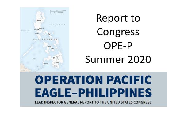 IG Report to Congress OPE-P Summer 2020