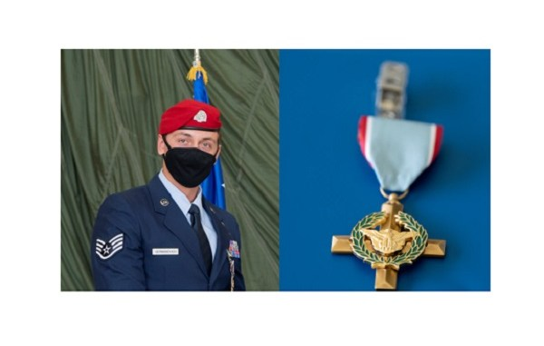Air Force Cross Awarded to Special Tactics Airman