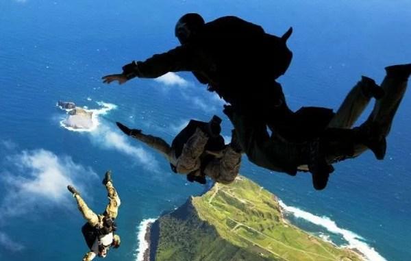 HALO Parachute Jump