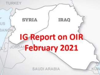 IG Report on OIR Feb 2021