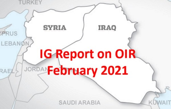 IG Report on OIR Feb 2021