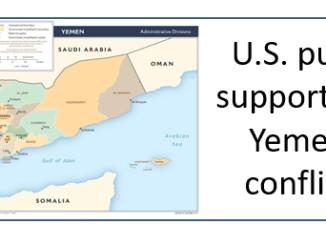 U.S. pulls support for Yemen conflict