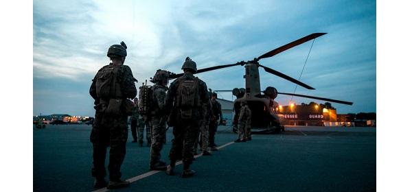 MARSOC Boarding CH-47 Chinook