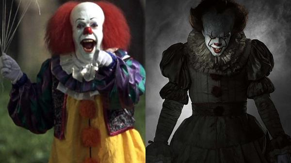 Image result for pennywise 1990 vs 2017 vs book