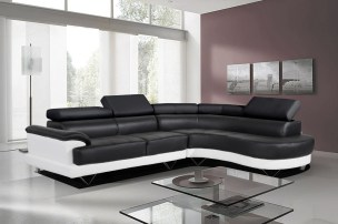 black-and-white-bonded-leather-corner-sofa-with-right-hand