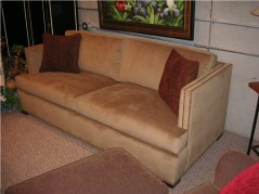 Landon Sofa in Velvet