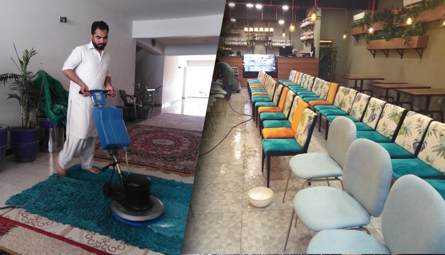 Sofa Carpet Washing Services in Lahore