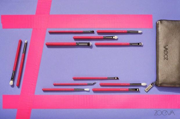 Zoeva Pink Elements Complete Eye Kit