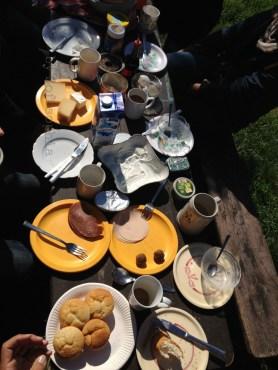 Das Frühstück hat geschmeckt!
