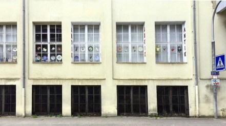 Fassade eines Antikshops