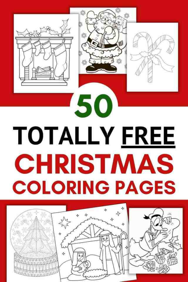 14 FREE Christmas Coloring Pages Printables 14  SoFestive.com