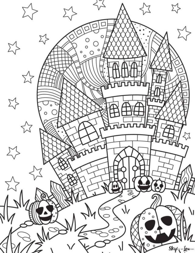 23+ FREE Halloween Coloring Pages- Halloween Activity Pages