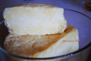 Φρέσκο σκληρό τυρί .