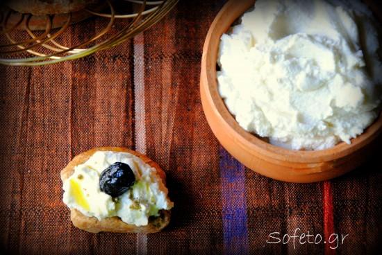 Σπιτικό , φρέσκο τυρί κρέμα από κεφίρ !