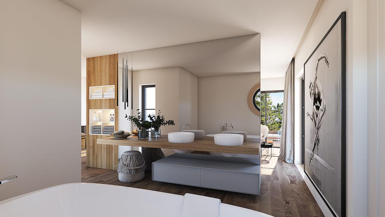 Casa MG 3D - Casa de Banho | MG House 3D - Bathroom
