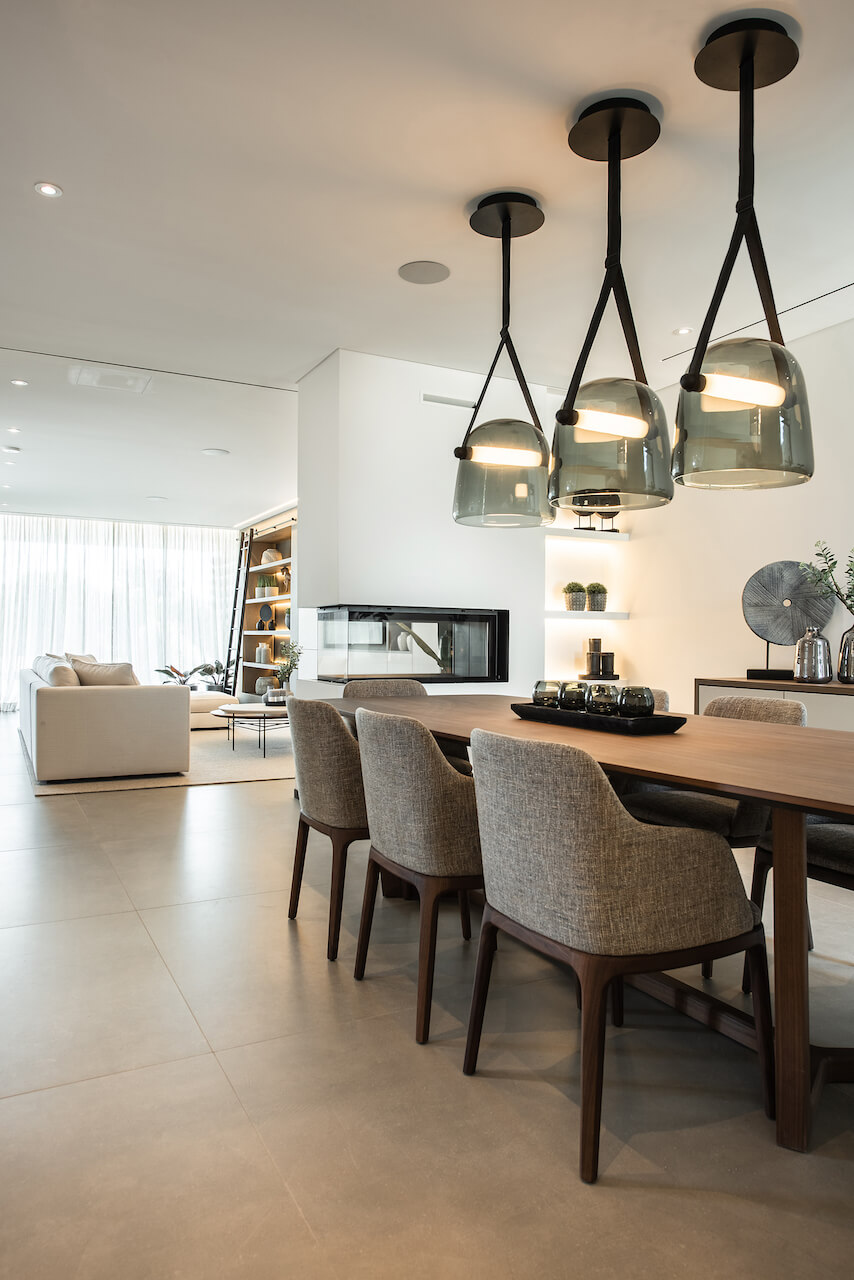 Casa JD - Sala de Estar e Jantar | JD House - Living and Dining Room