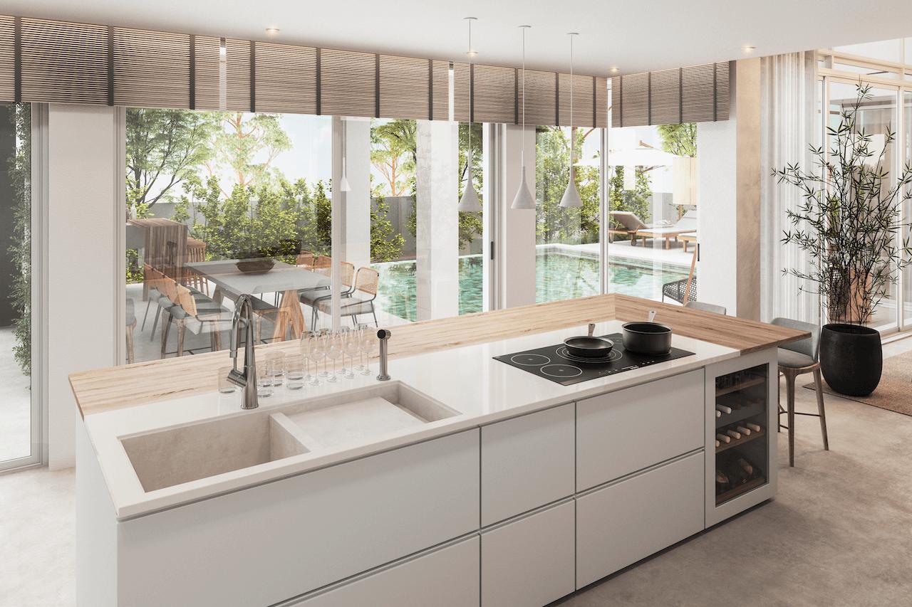 370 House 3D – Cozinha