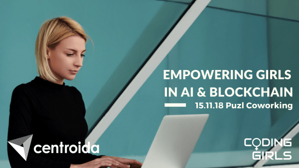 Empowering Girls in AI & Blockchain | Puzl coworking | November 15