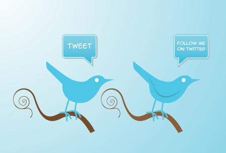 La historia del logo de Twitter