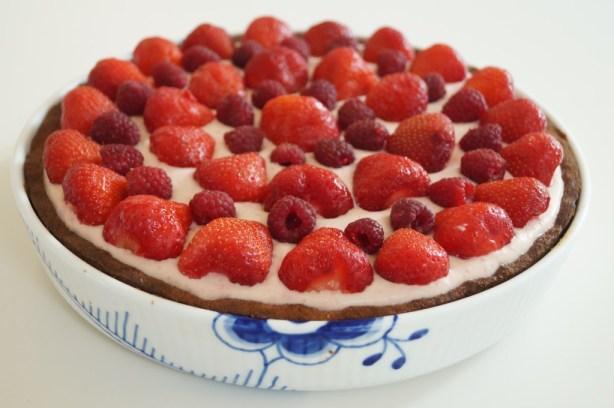 LCHF jordbærtærte