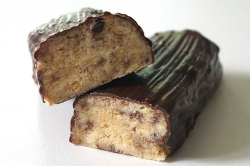 proteinbarer med peanut
