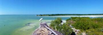 Panorama over Isla de la Pasion