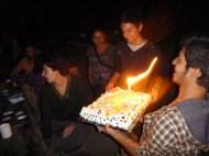 Amys birthday cake! Happy birthday!!!