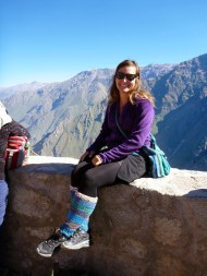 In Colca Canyon