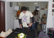 Duilio making a fernet at home!