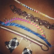 Different kind of bracelets