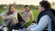 In Parque del sur, having mate with Rocio and Nico. :)