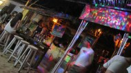 Nice bar, more outside then inside :)
