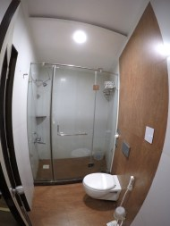 My hotel bathroom, yay!
