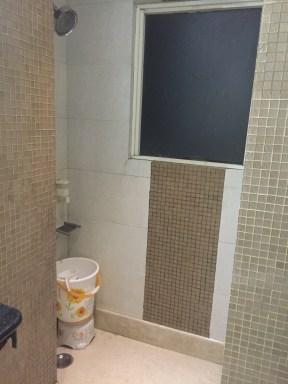 My bathroom at Omega...